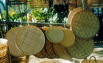 Basketry in Chiang Mai