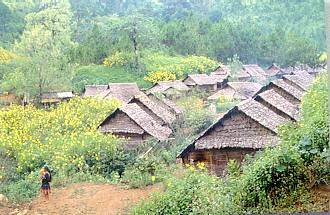 Hilltribe Village in Chiang Mai