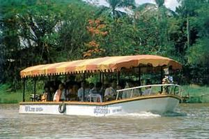 Long Tail Boat for Dinner Tour, Chiang Mai, Thailand