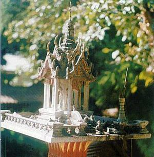 Spirit House in Chiang Mai